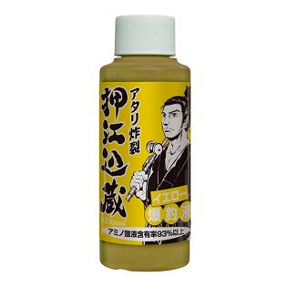 押江込蔵<br>イエロー爆釣液120g<br>Yellow Bakuchoeki