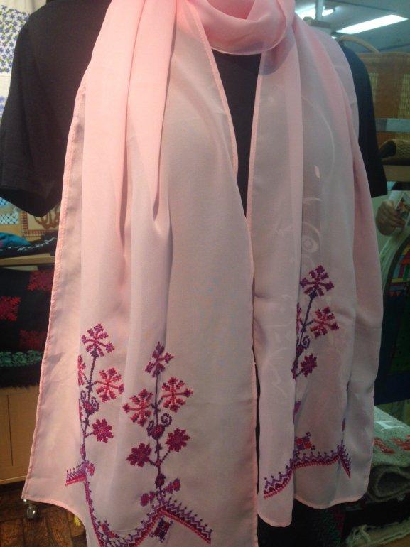 summer ショール(pink flower)