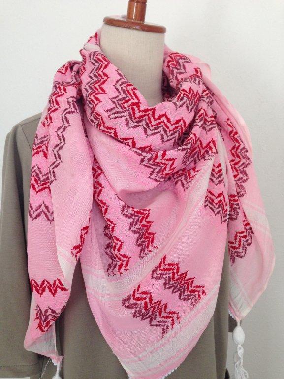 ラスト・カフィーヤ Pink wave