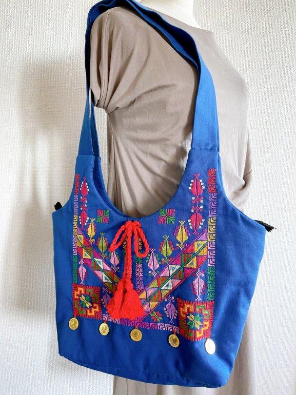 ガザ刺繍ショルダーバッグ