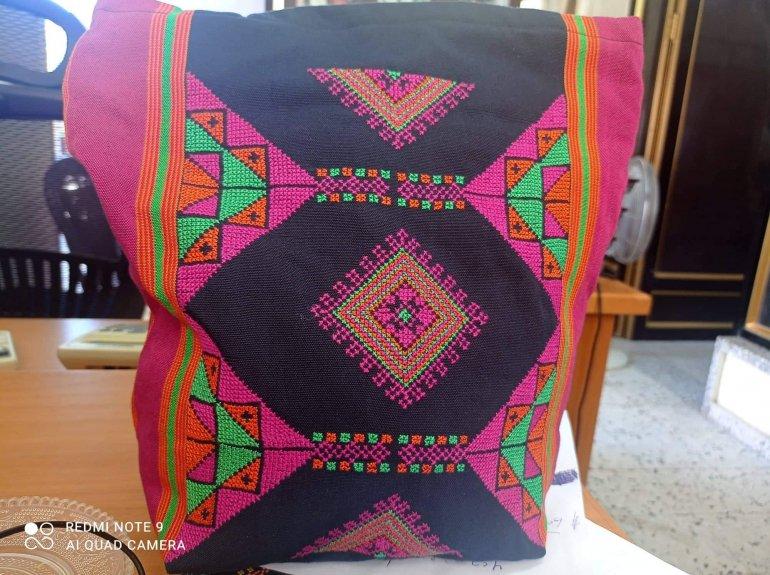 マジダル織り刺繍トートバッグ