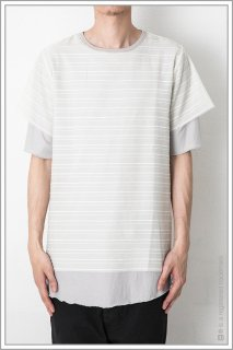 BORDER LAYERED S/S<br>【Off】