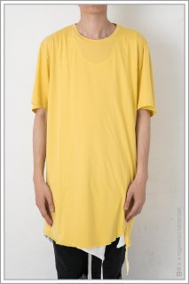 CREW TAPE TEE<br>【YELLOW】