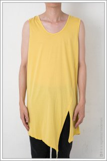 SLIT TAPE TANK TOP<br>【YELLOW】