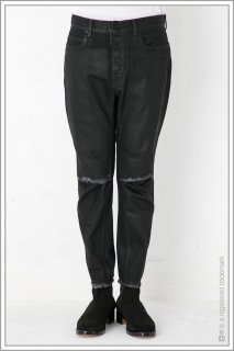 "TAPERED DENIM ""coating""<br>【Black】"