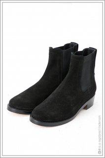 "SIDEGORE BOOTS ""leather sole""<br>【Black】"