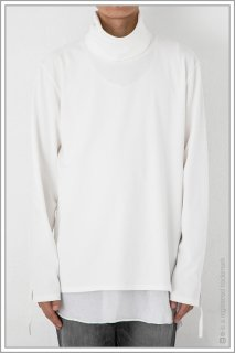 ◯TURTLE NECK L/S <br>【Off】