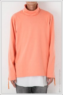 TURTLE NECK L/S <br>【Vermilion】