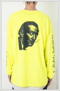 ◯″One_Face″ L/S TEE<br>【N.Yellow】