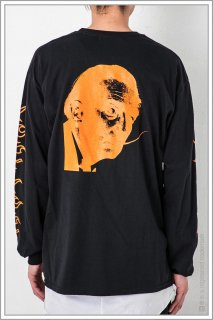 ◯″One_Face″ L/S TEE<br>【Black】