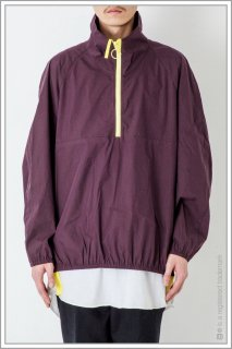 HALF ZIP BLOUSON<br>【Purple】