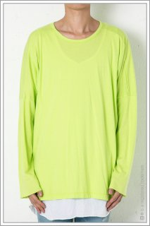 "DOLMAN L/S ""tape""<br>【N.Yellow】"