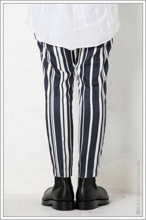 """1TUCK CUT TROUSERS """"bs""""<br>【Navy】"""