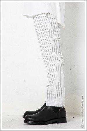 "1TUCK CUT TROUSERS ""stripe""<br>【Off】"
