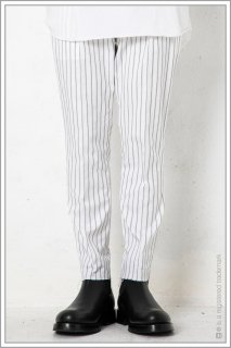 "1TUCK CUT TROUSERS ""stripe""<br>【Off】"