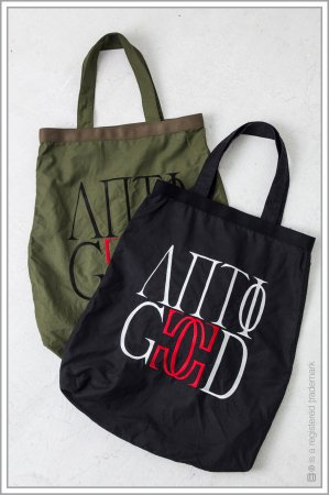 "TOTE BAG ""embroidery"" <br>【Khaki】"