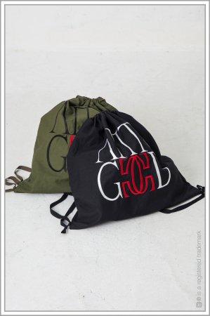 "KNAPSACK ""embroidery"" <br>【Black】"