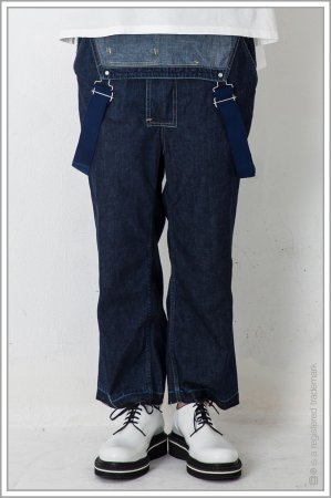 "OVERALL ""chambray""<br>【Black】"