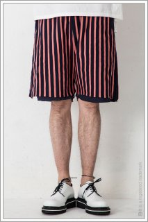 STRIPE SHORTS<br>【Pink】