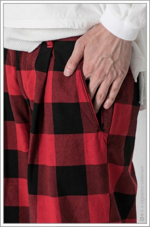 """WIDE TROUSERS """"b.c""""<br>【Red】"""