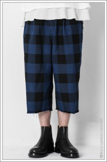 "WIDE TROUSERS ""b.c""<br>【Blue】"