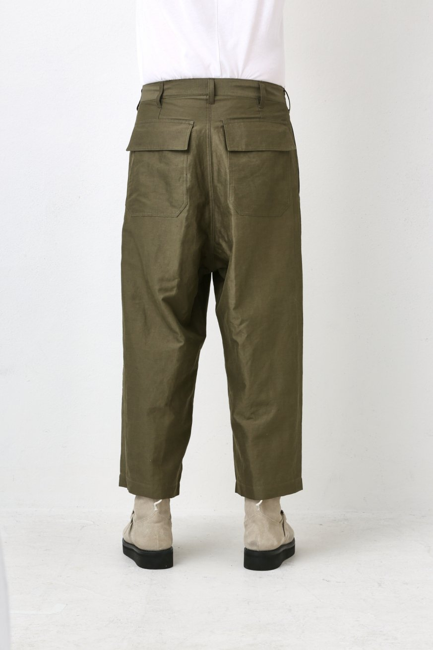1TUCK WIDE TROUSERS