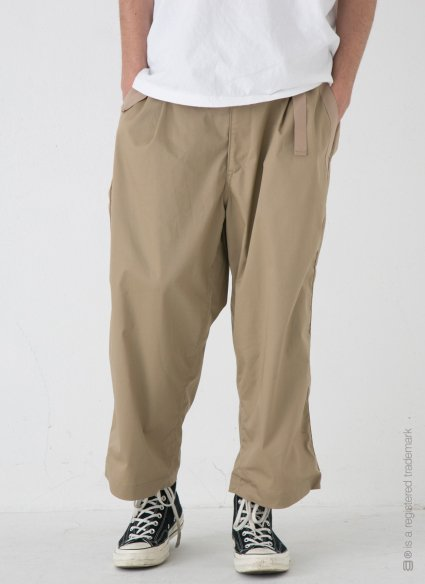 W BELT TROUSERS【Beige】