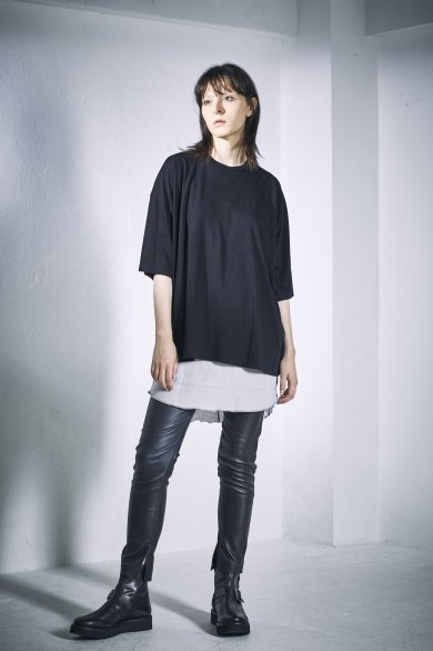 WIDE TEE【Black】