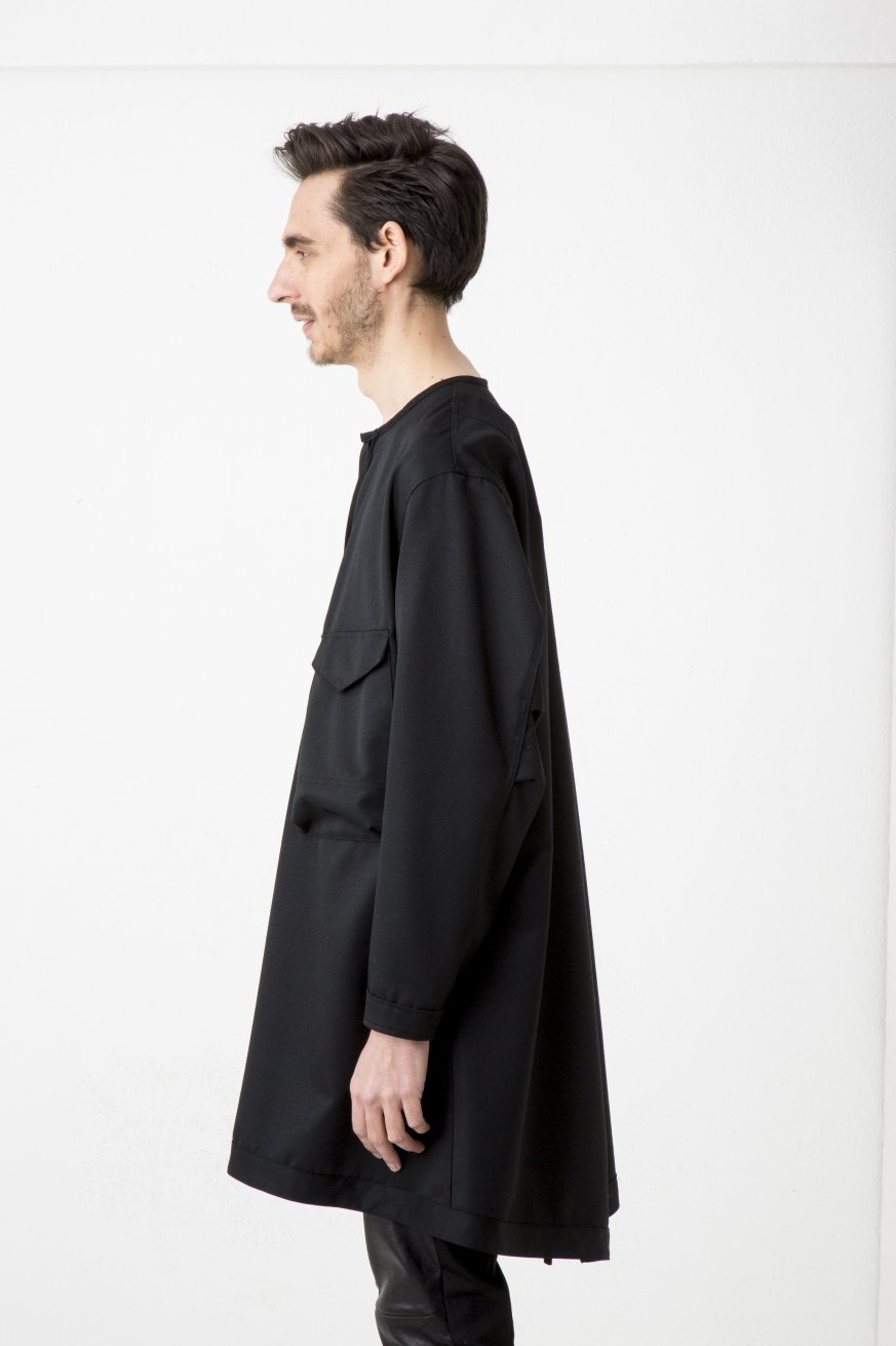 W.P RIBON LONG JKT【Black】