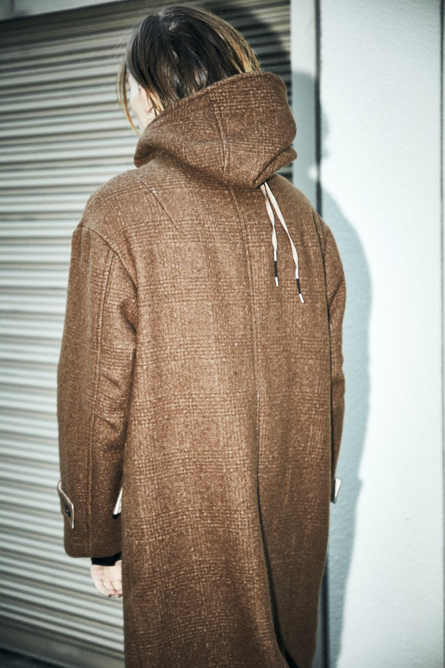 OVER HOODY【Brown】