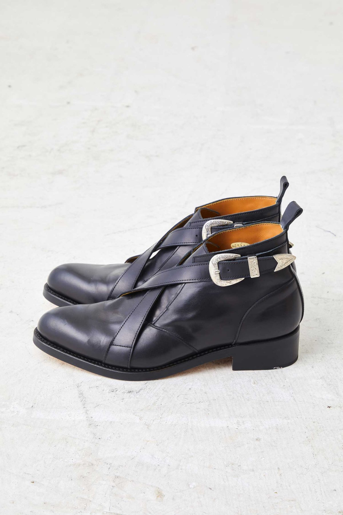 CROSS BELT S.BOOTS【Black】