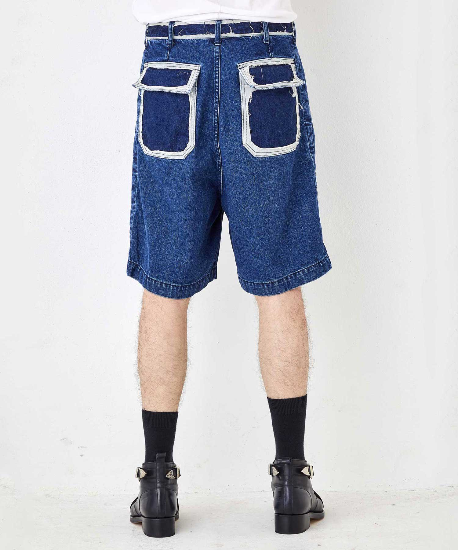 1 TUCK WIDE SHORTS