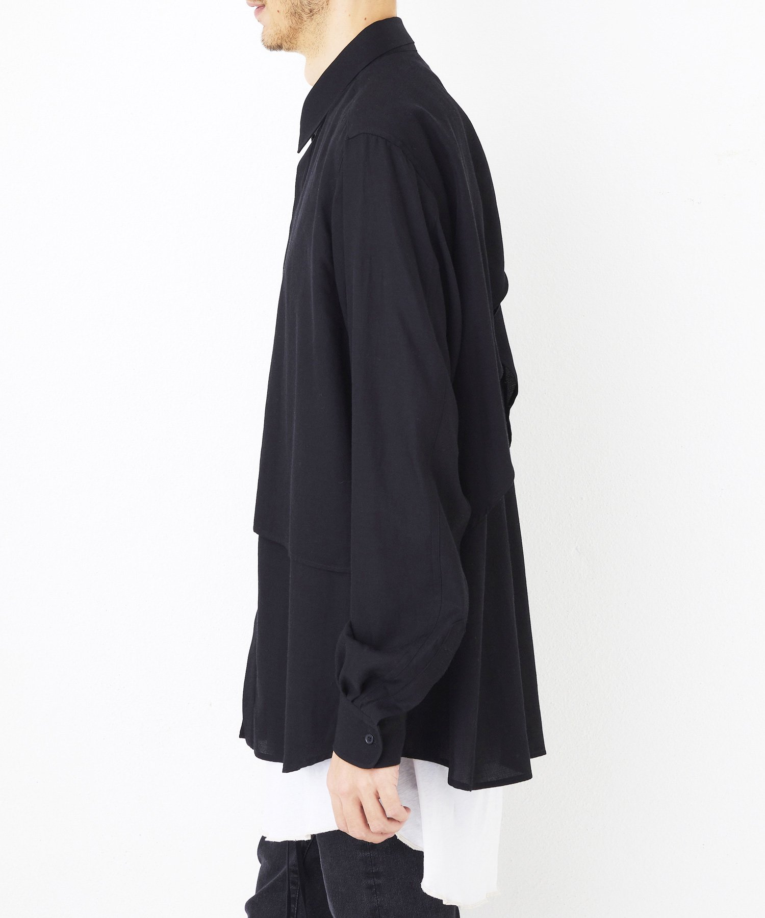 LAYERED SHT【Black】