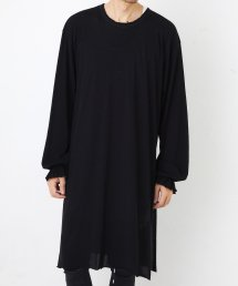 LONG SLIT L/S【Black】&【Off】