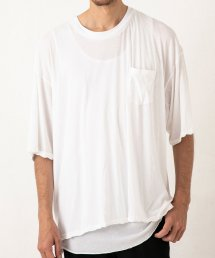 PKT TEE【White】