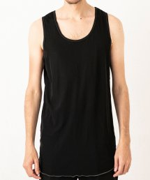 LONG TANK TOP【Black】&【Navy】