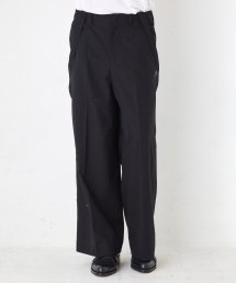WIDE SUSPENDERS TROUSERS【Black】