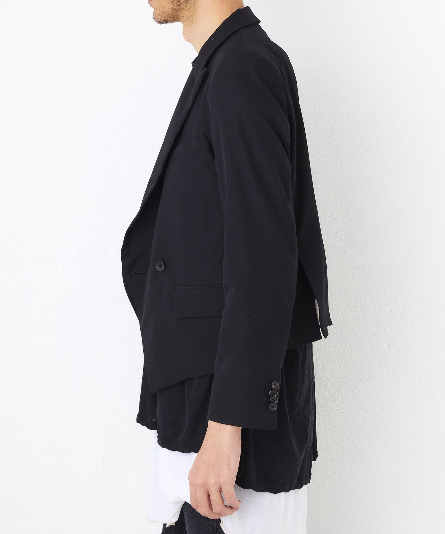 W TAILORED JKT【Black】
