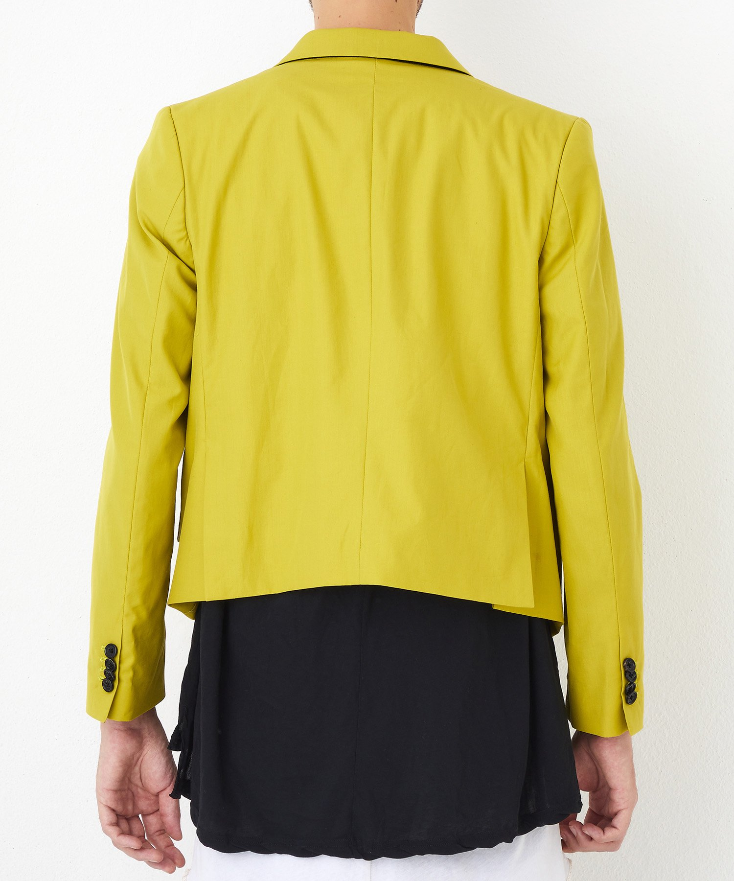 W TAILORED JKT【Yellow】