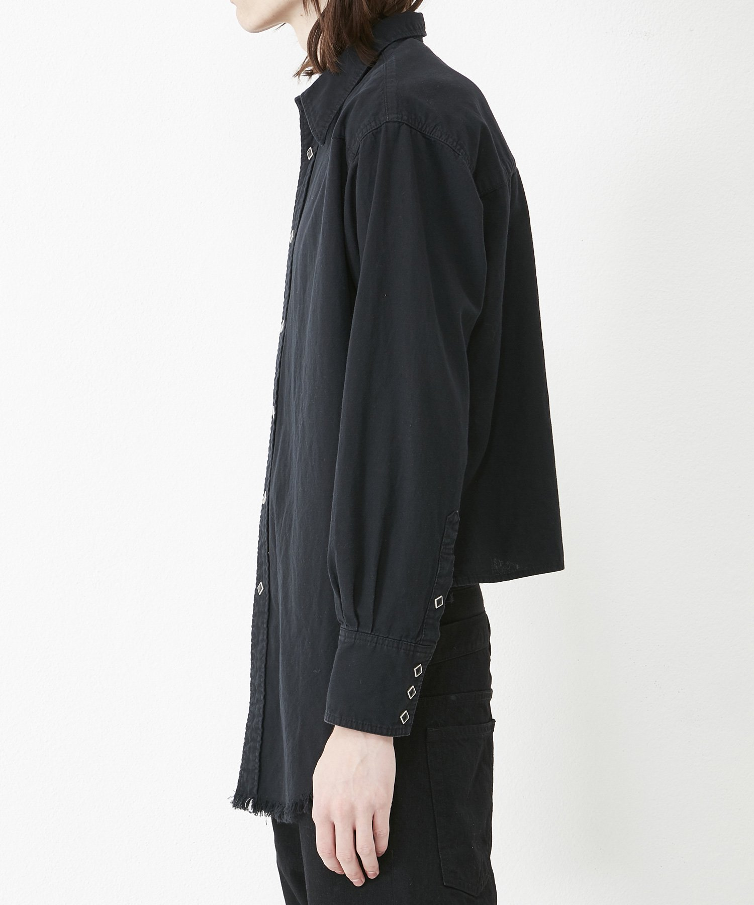 WESTERN SHIRT 【BLACK】