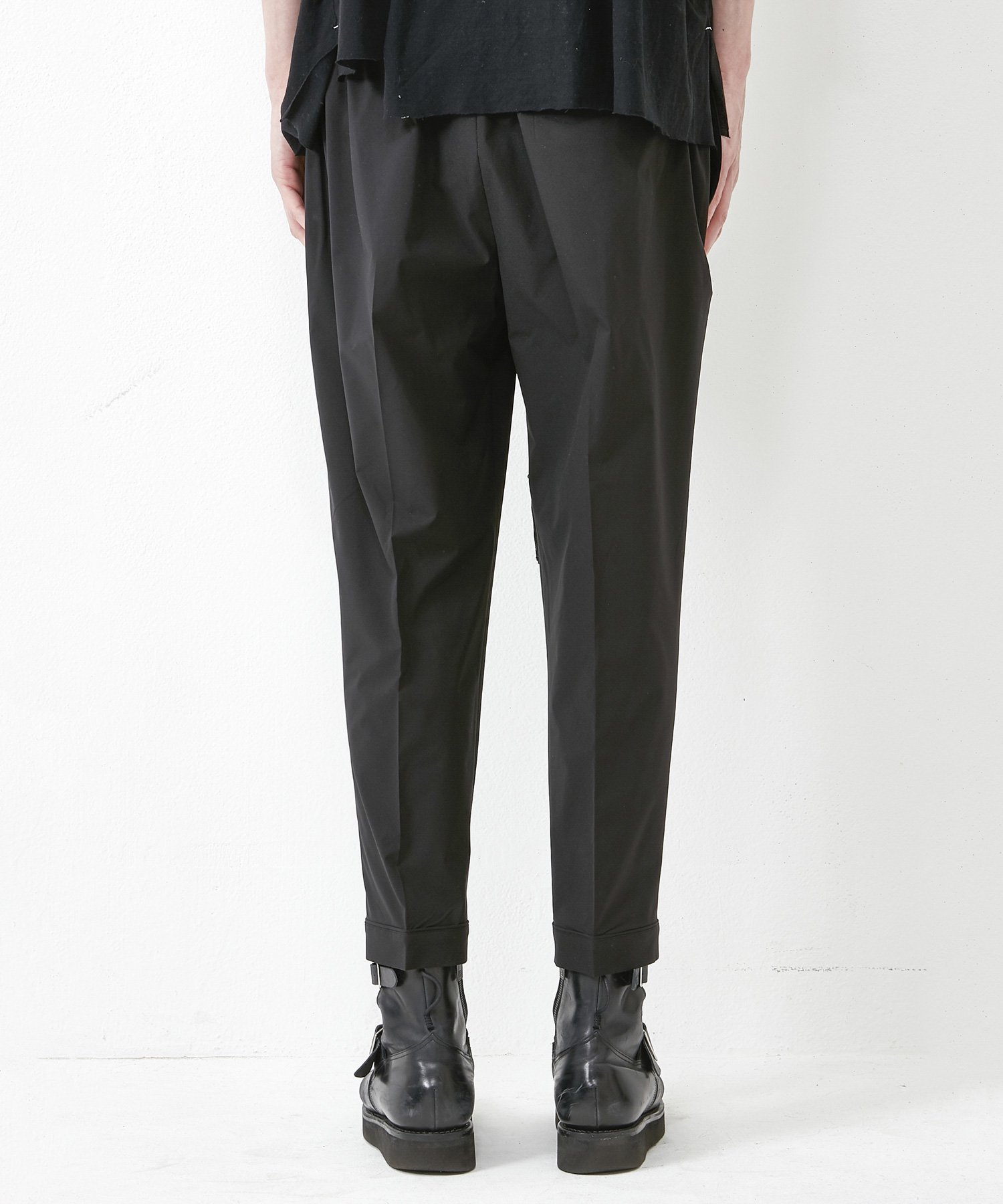 EASY TROUSERS 【BLACK】