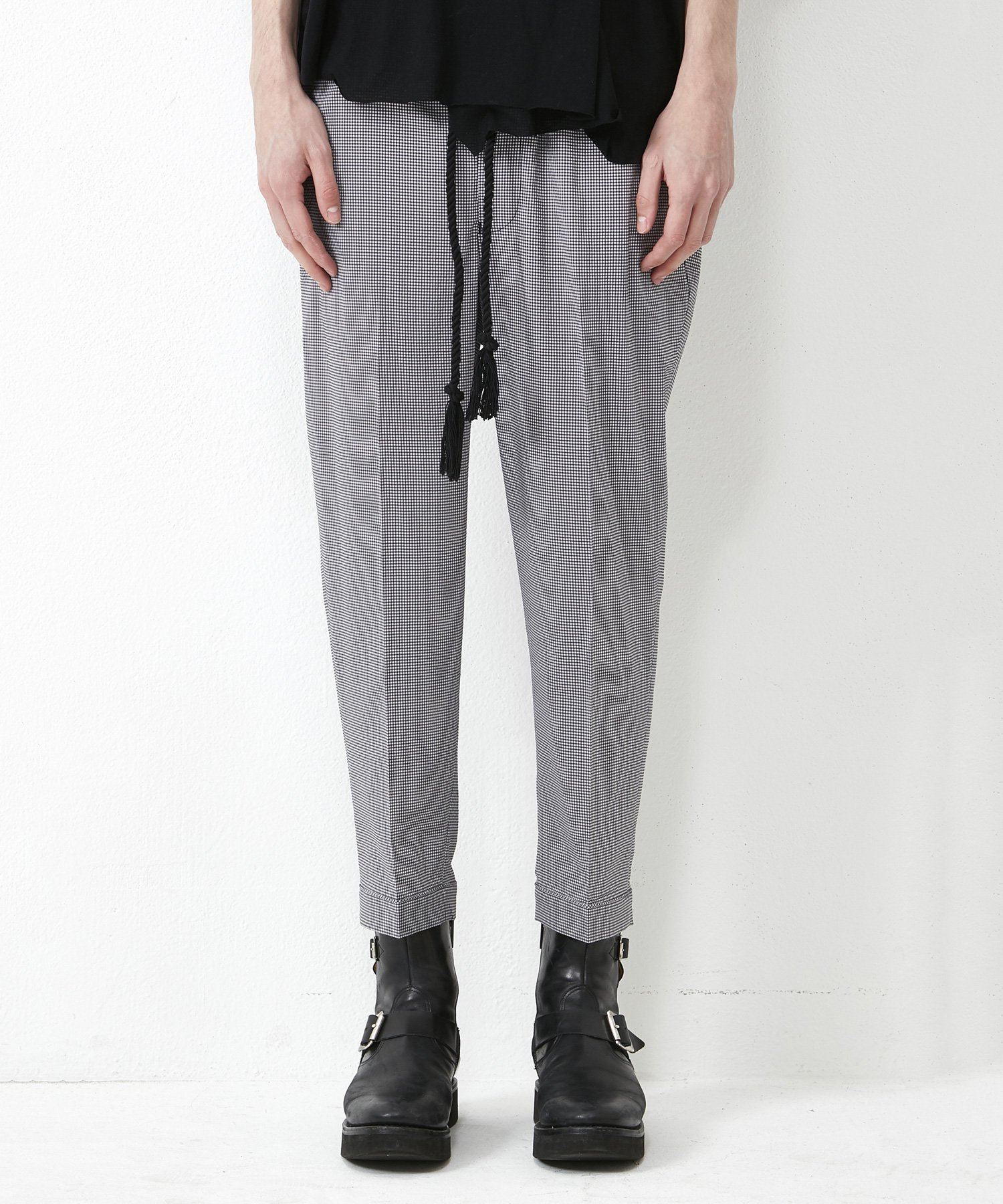 EASY TROUSERS 【CHECK】