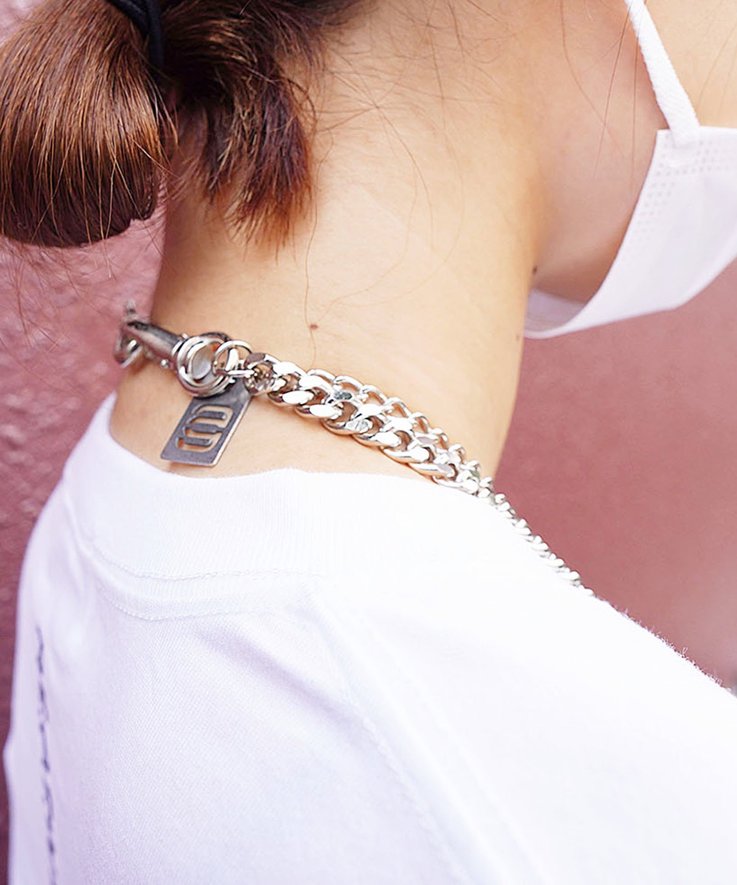 CHAIN NECKLACE 【SILVER】