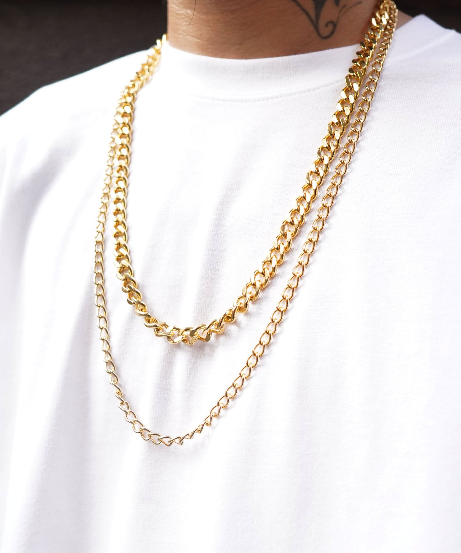 CHAIN NECKLACE 【GOLD】