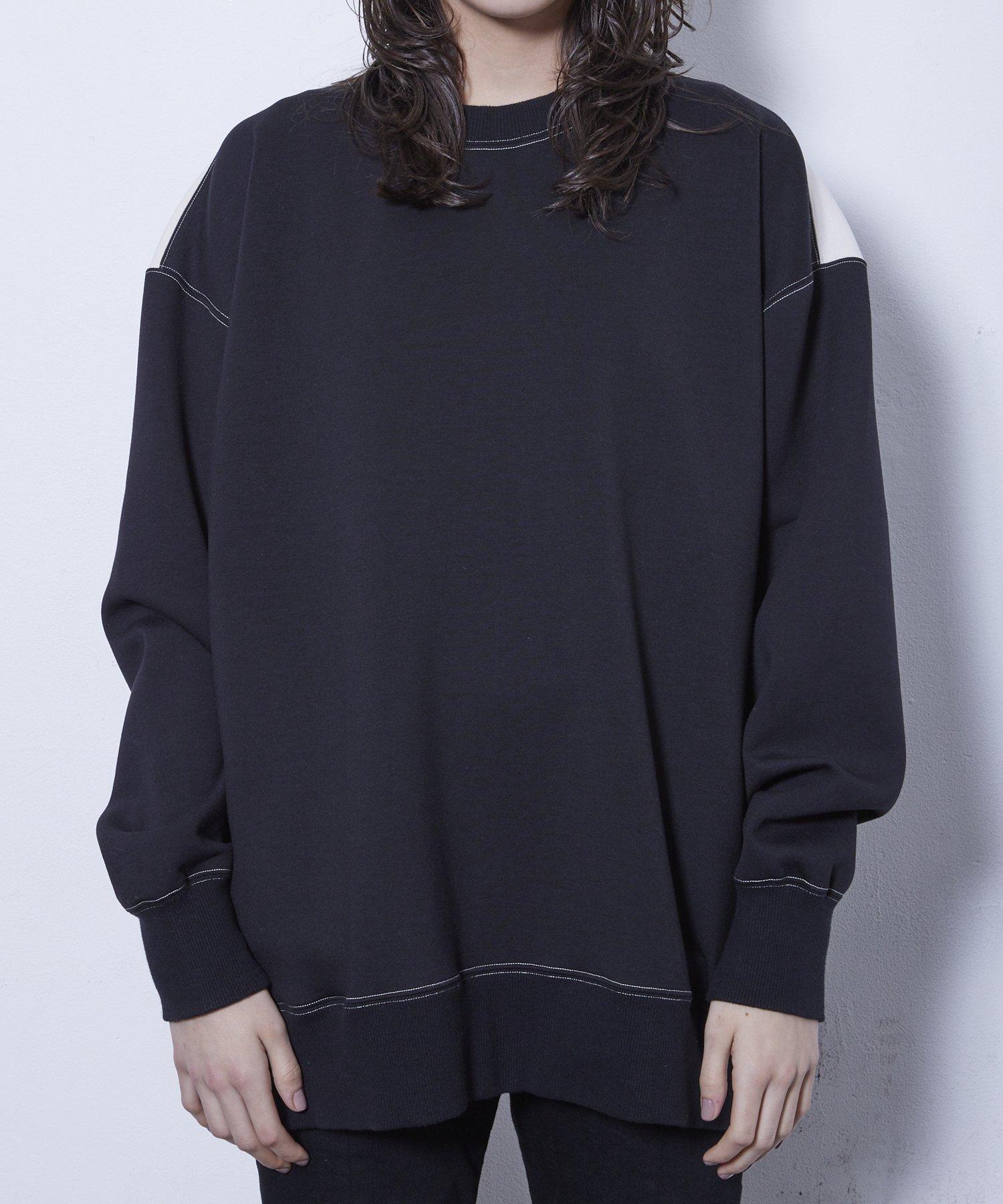 CREW NECK JERSEY 【BLACK】