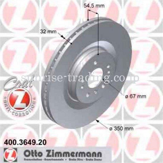 メルセデスベンツ W164 ブレーキディスク フロント 400364920