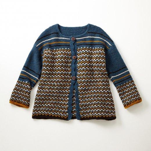 ジグザグ模様のジャケット