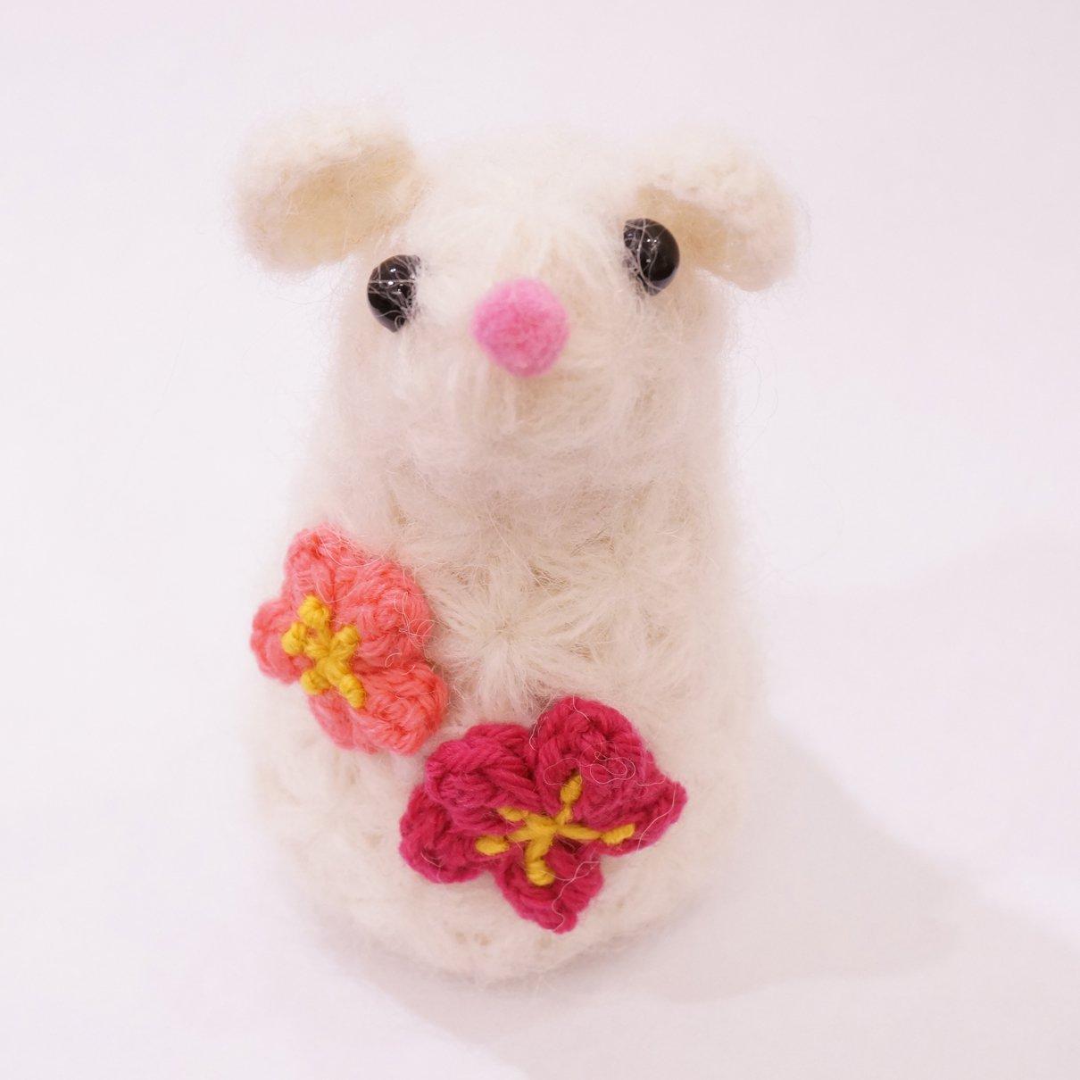 ネズミ編みぐるみ(製品)-限定5体