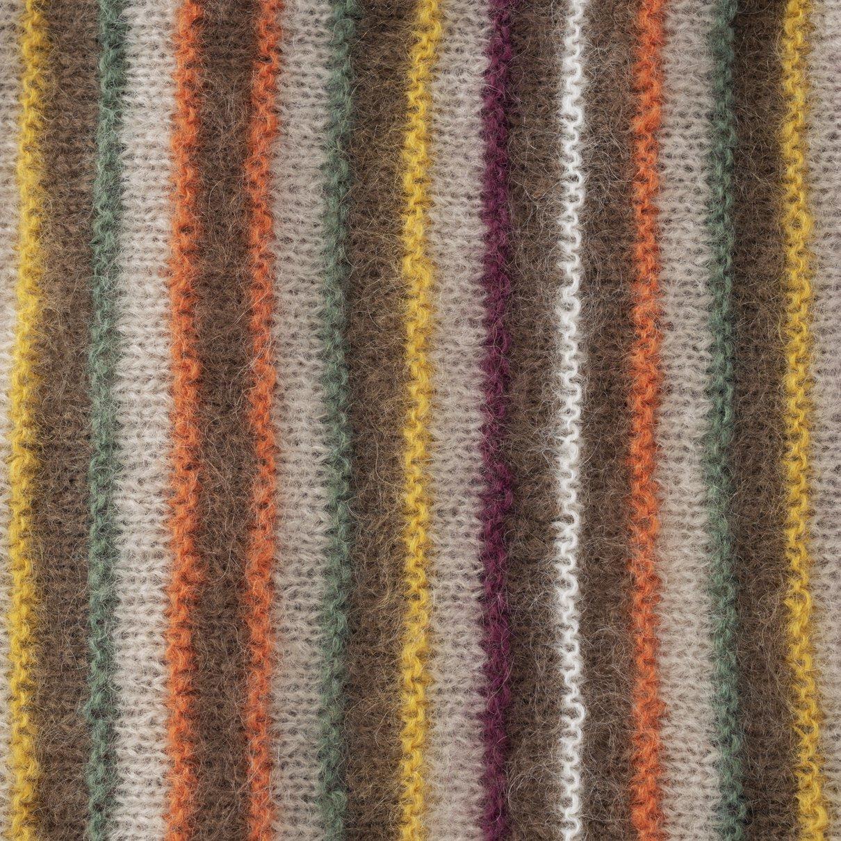 ドミノ編みカーディガン