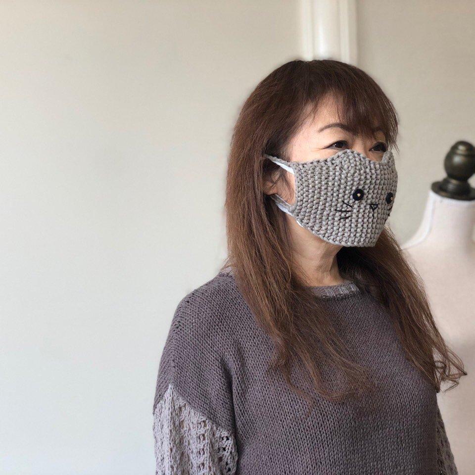 猫マスクカバー(大人用) [製品]